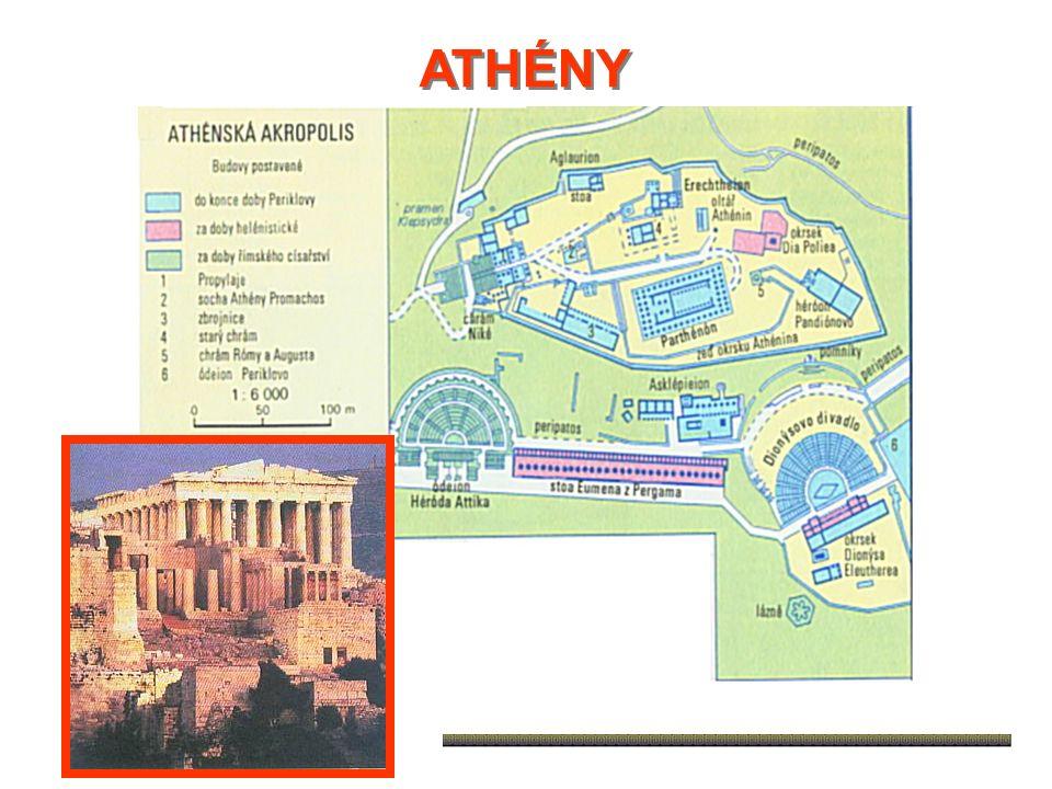 - v čele Athén nejvyšší úředníci – ARCHONTI - z řad aristokracie (vláda nejlepších) - 6.