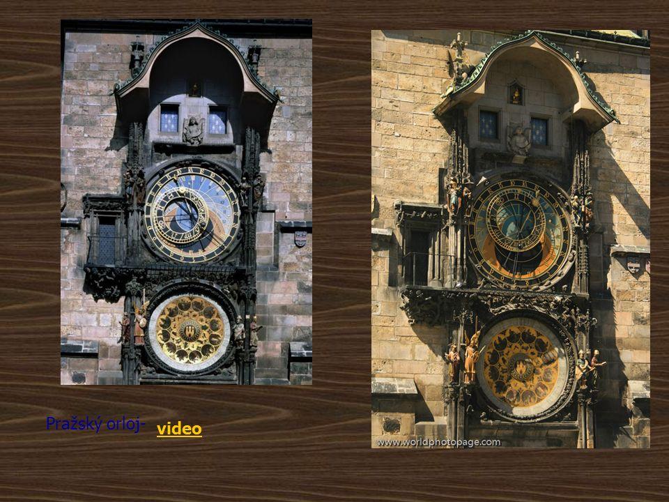 Pražský orloj Stavba radnice na Staroměstském náměstí pochází ze 14.-16.