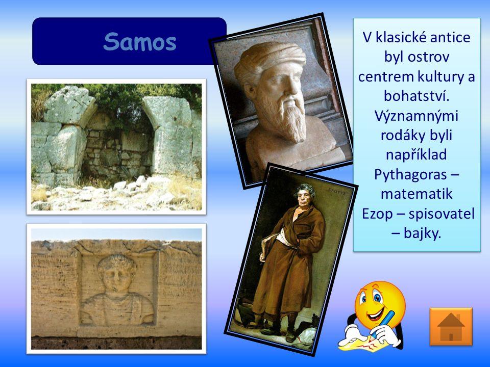 Samos V klasické antice byl ostrov centrem kultury a bohatství.
