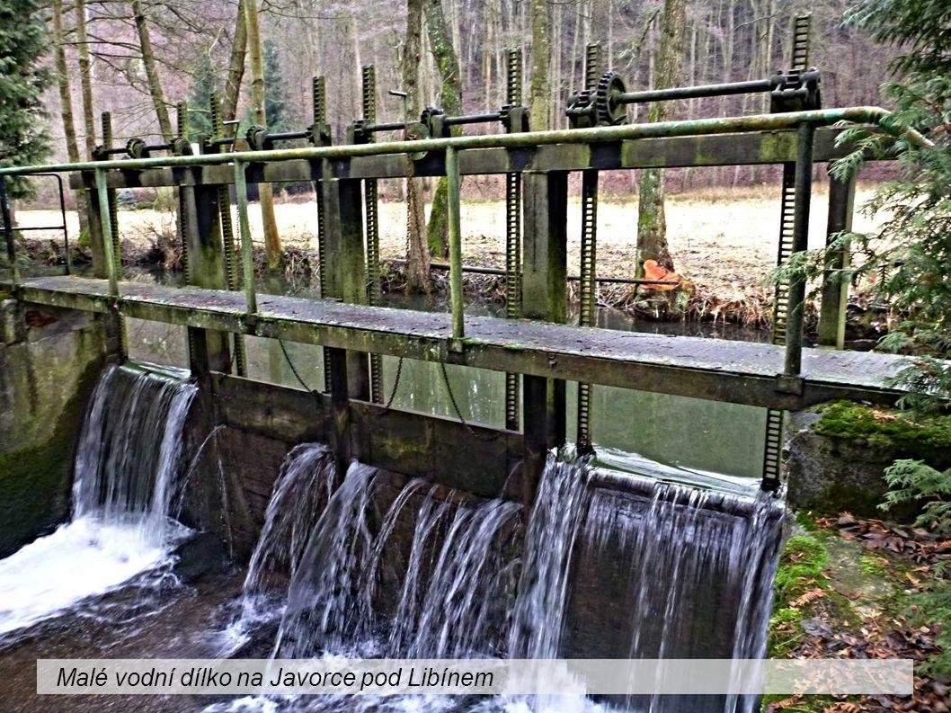 Malé vodní dílko na Javorce pod Libínem