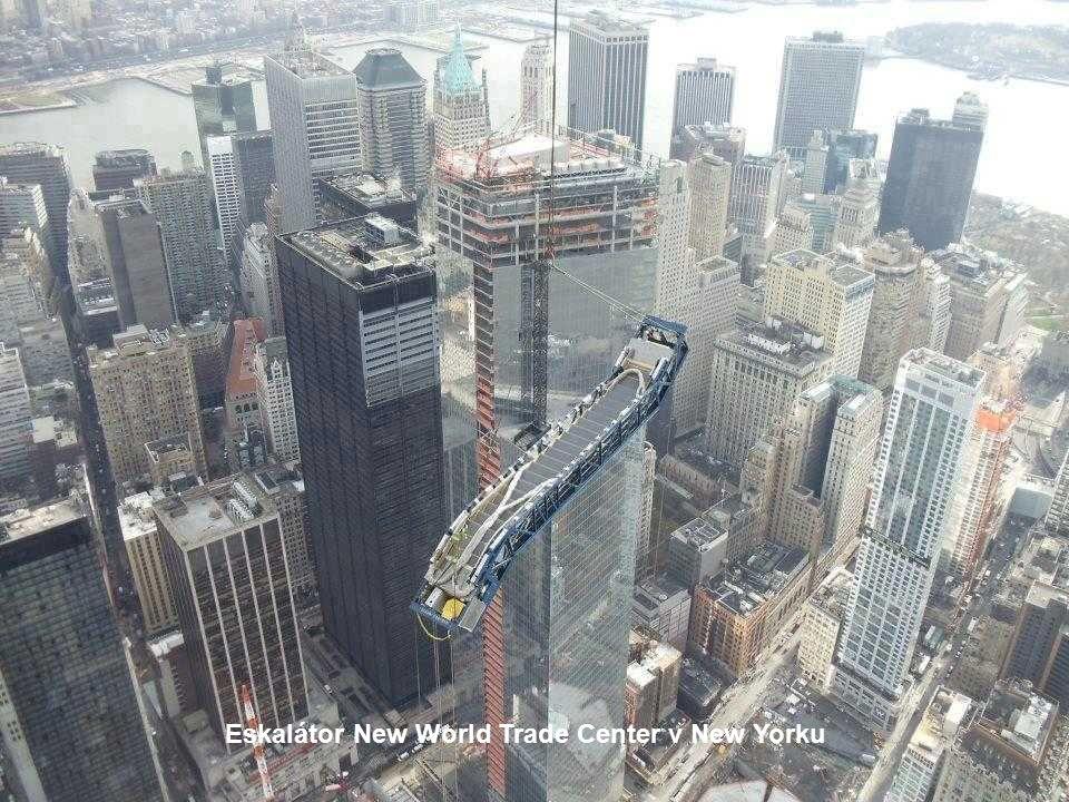 Eskalátor New World Trade Center v New Yorku
