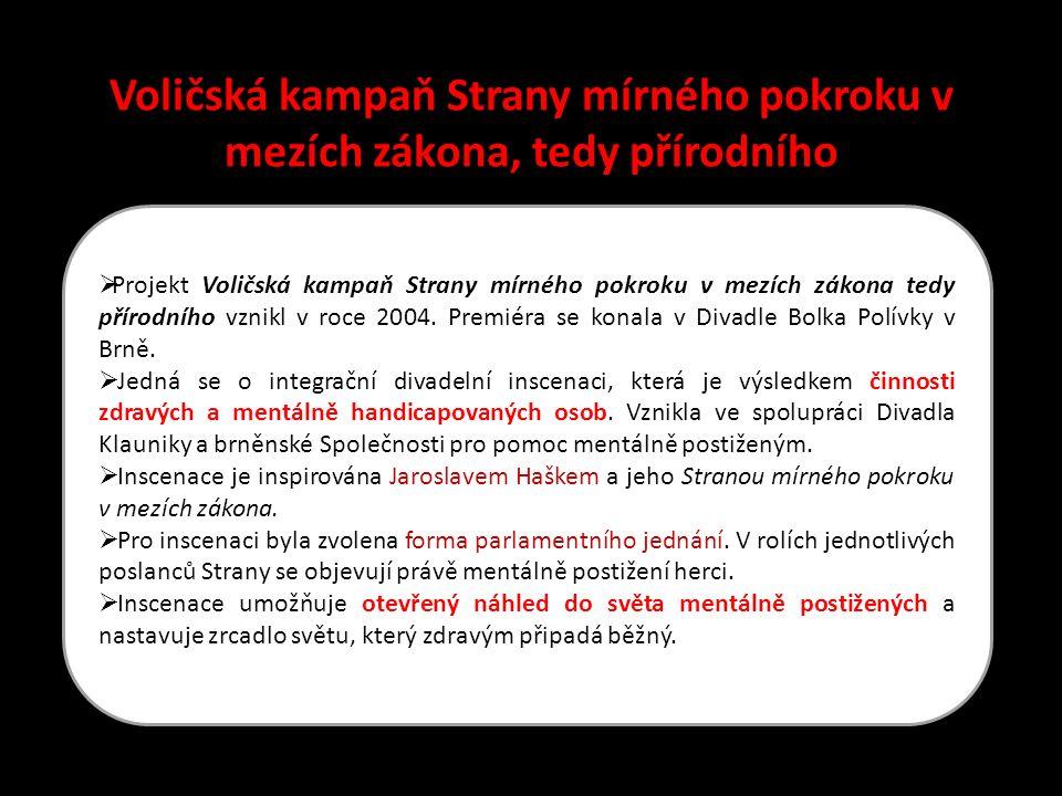 Divadlo Klauniky Brno uvádí: