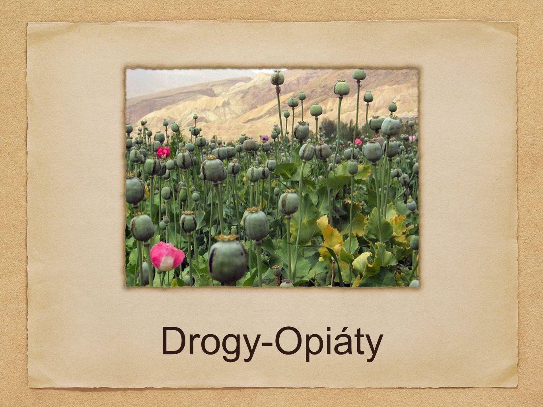Drogy-Opiáty
