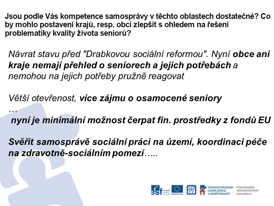 Návrat stavu před Drabkovou sociální reformou .