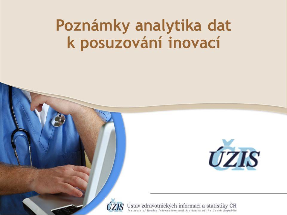 Poznámky analytika dat k posuzování inovací