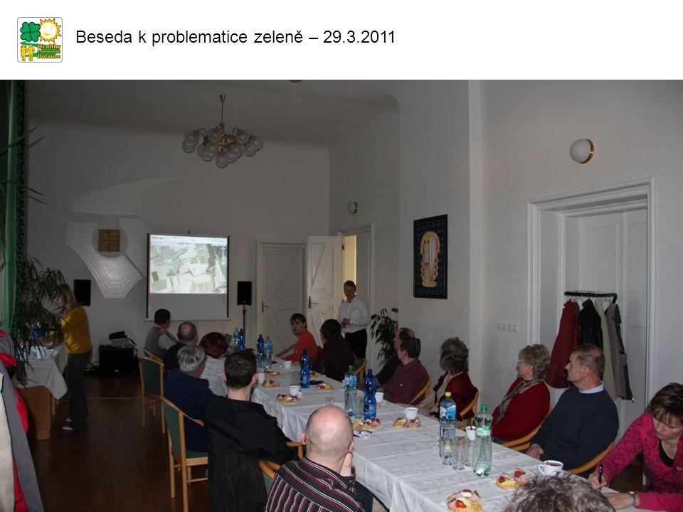Beseda k problematice zeleně – 29.3.2011