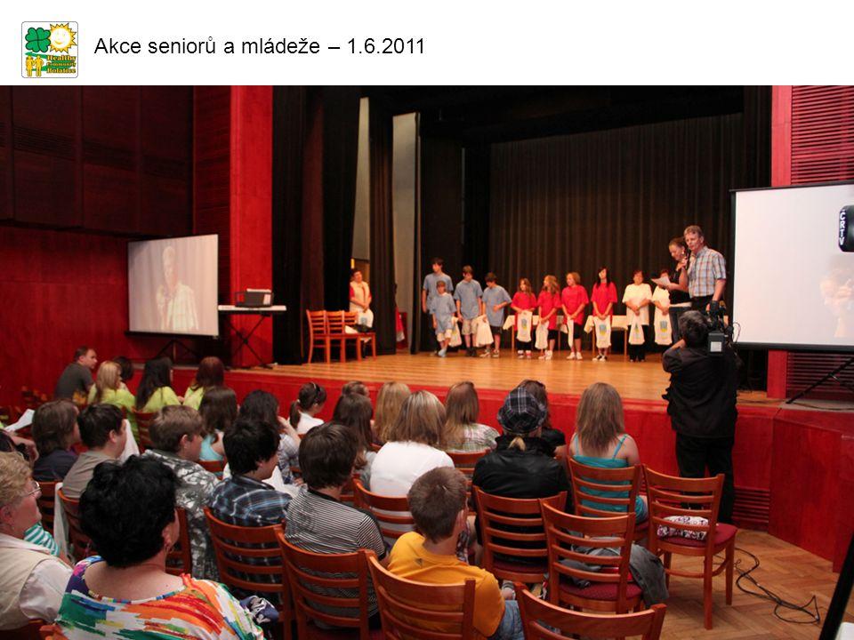 Akce seniorů a mládeže – 1.6.2011