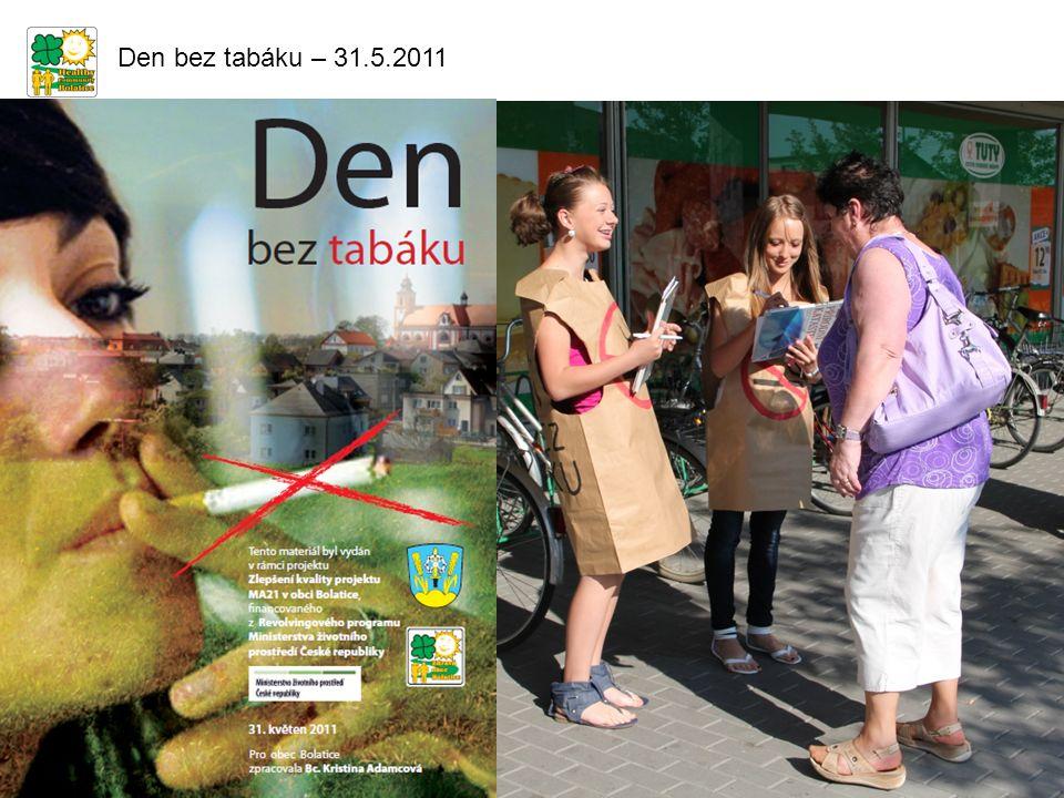 Den bez tabáku – 31.5.2011