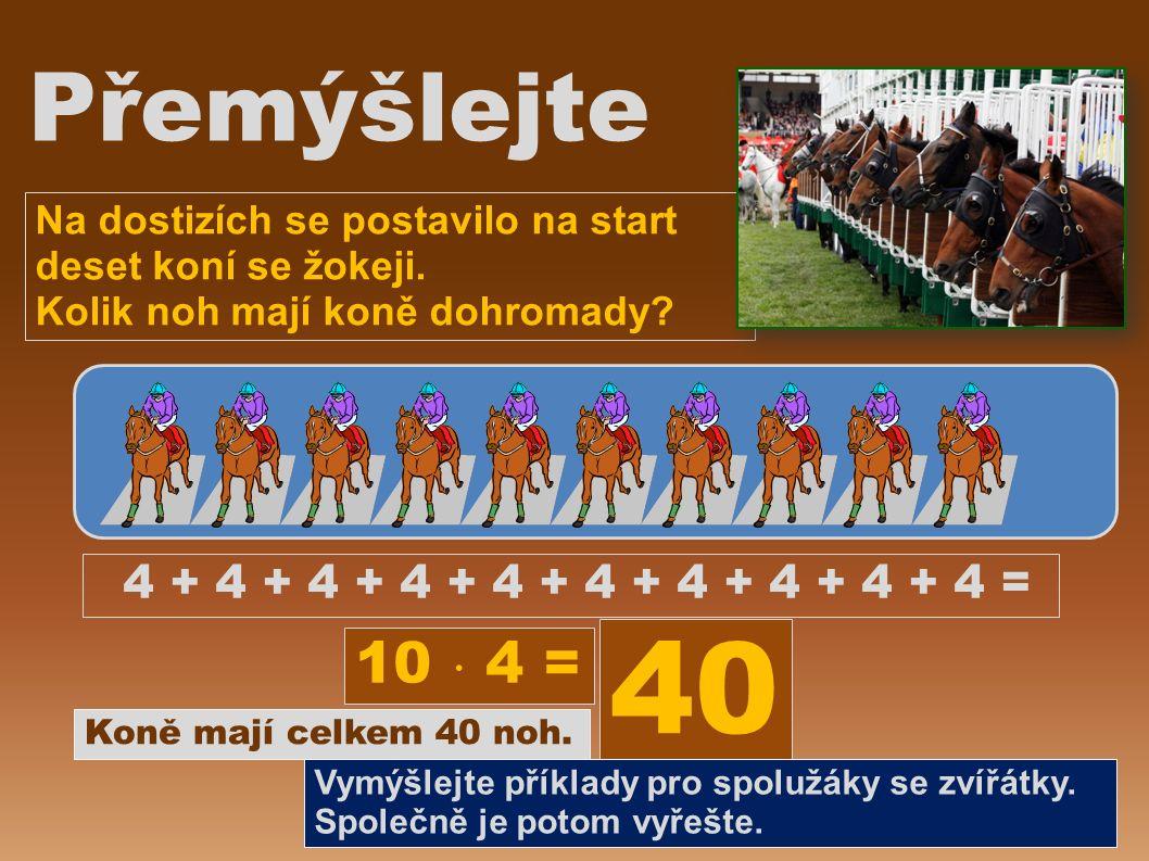 Na dostizích se postavilo na start deset koní se žokeji.