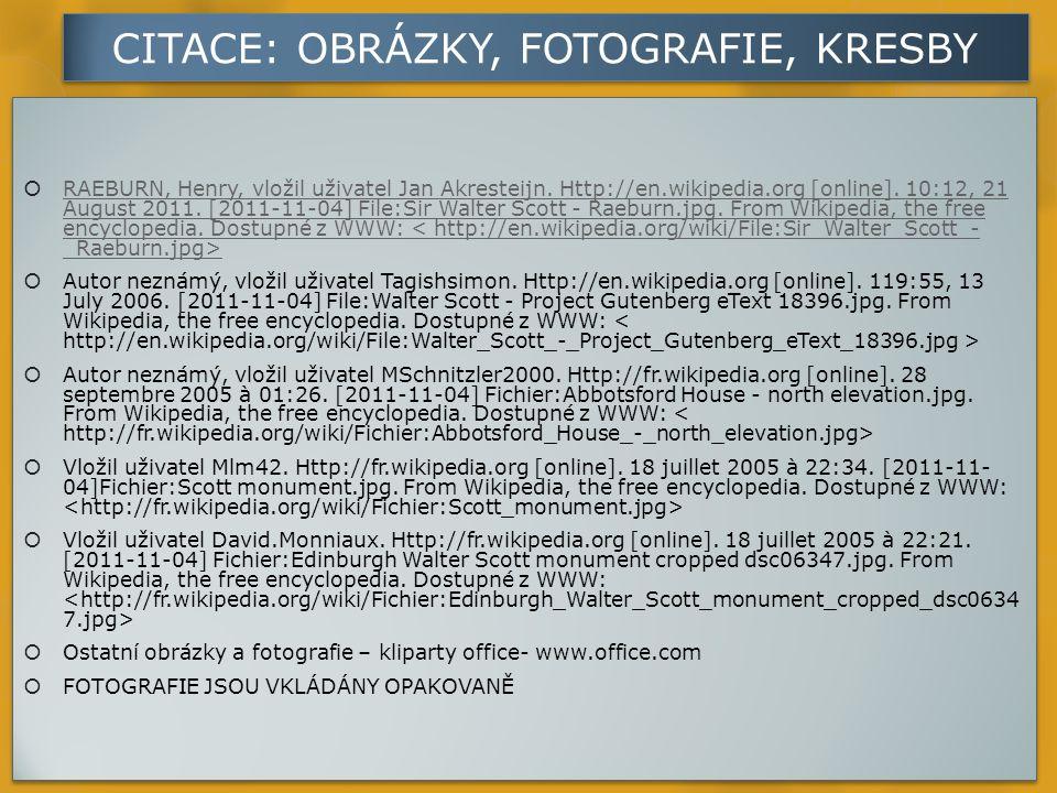 CITACE: OBRÁZKY, FOTOGRAFIE, KRESBY  RAEBURN, Henry, vložil uživatel Jan Akresteijn.