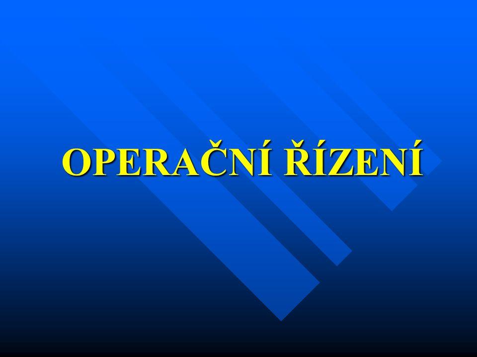 Operační střediska HZS  Povinnost zřizování operačních středisek HZS ČR vyplývá z § 2 odst.