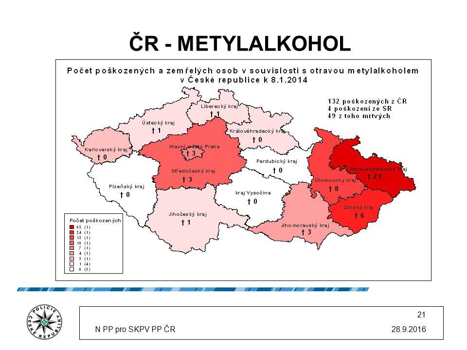 ČR - METYLALKOHOL 28.9.2016N PP pro SKPV PP ČR 21