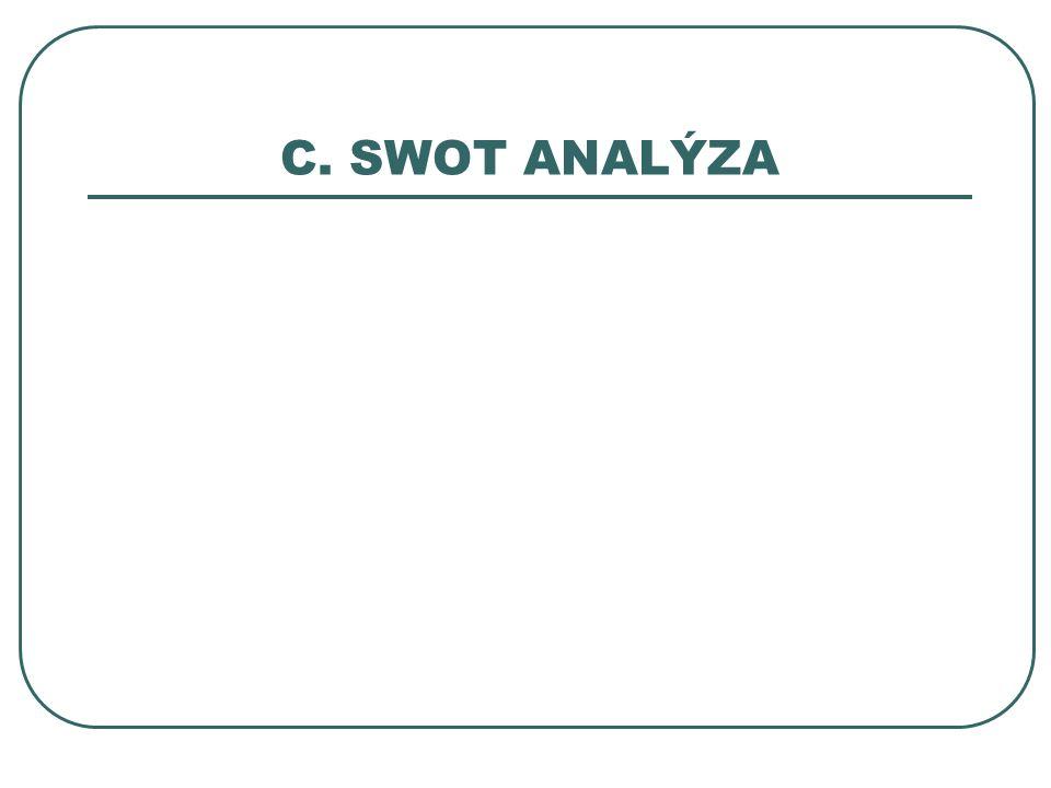 C. SWOT ANALÝZA