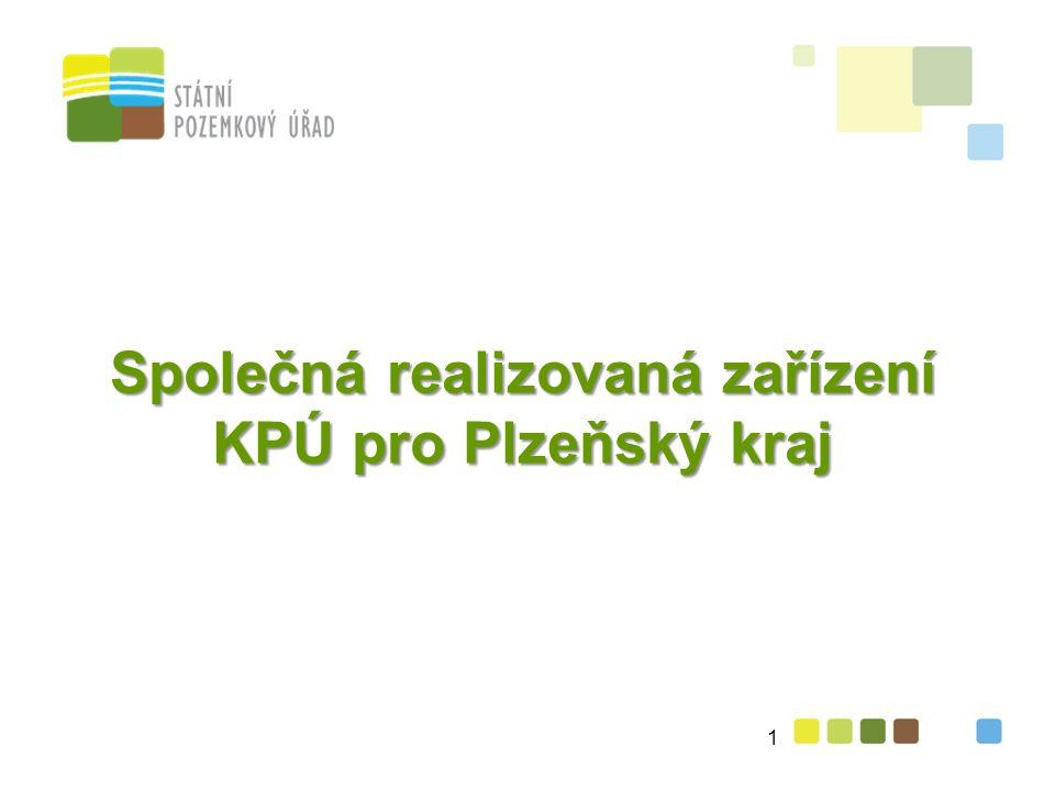 Společná realizovaná zařízení KPÚ pro Plzeňský kraj 1