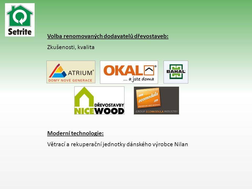 Volba renomovaných dodavatelů dřevostaveb: Zkušenosti, kvalita Moderní technologie: Větrací a rekuperační jednotky dánského výrobce Nilan