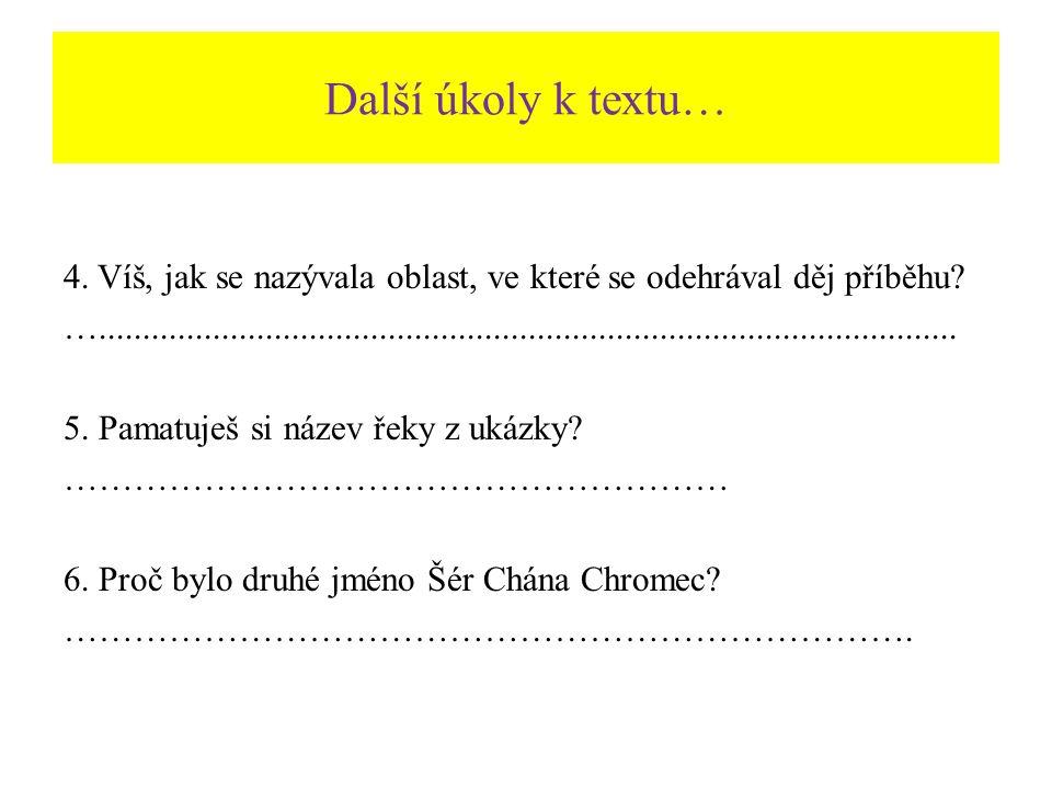 Řešení úkolu č.