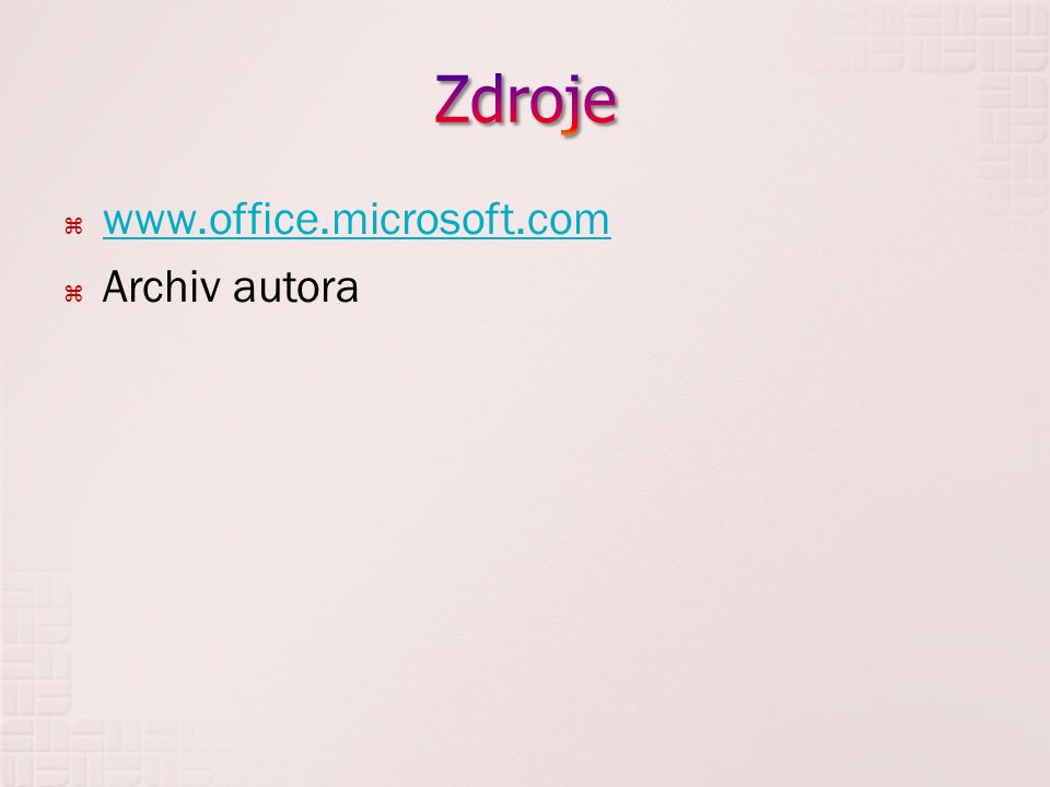  www.office.microsoft.com www.office.microsoft.com  Archiv autora