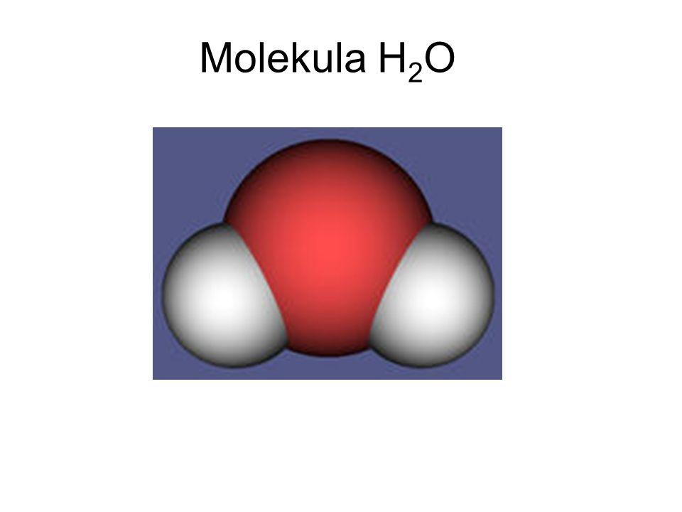 Molekula H 2 O