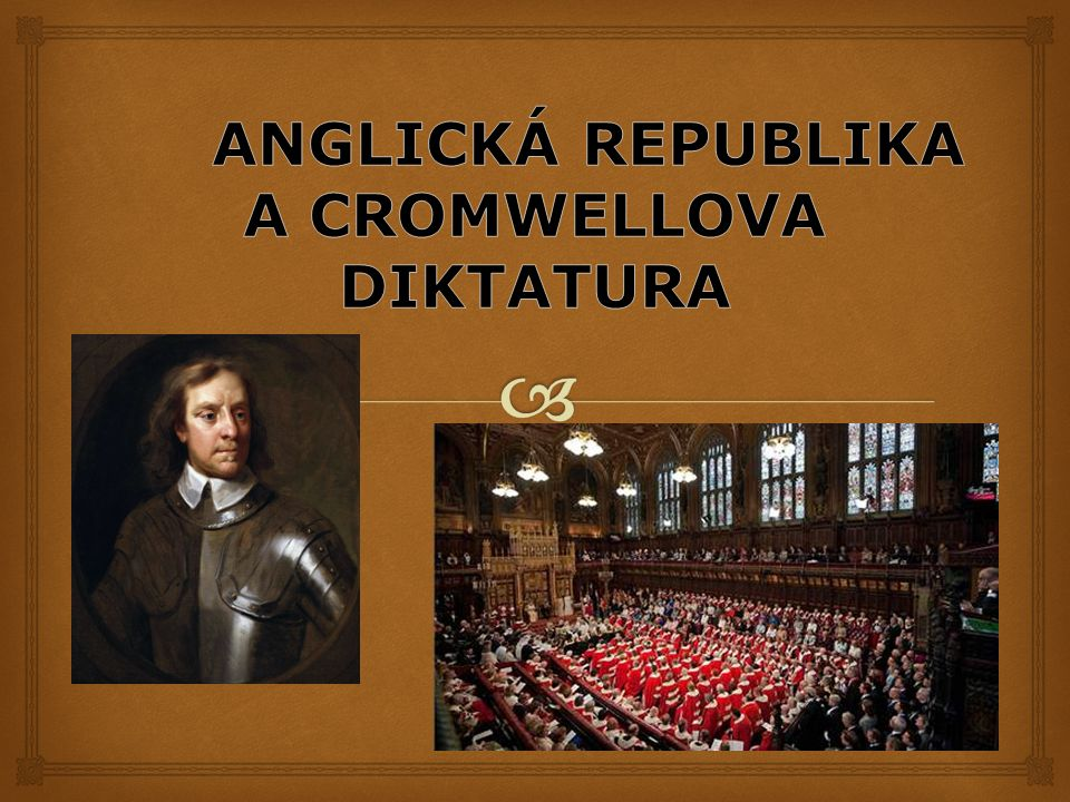   1649: po popravě Karla I.