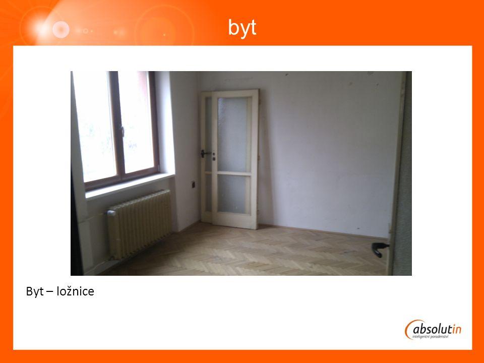 byt Byt – ložnice