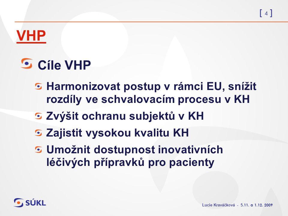 [ 4 ] Lucie Kraváčková - 5.11. a 1.12.