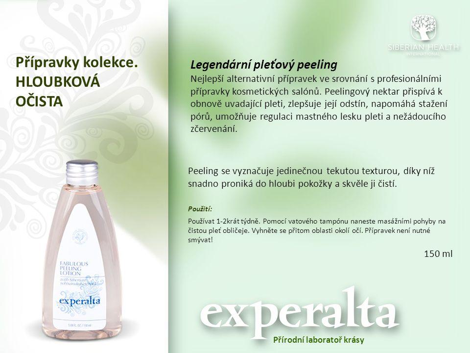 Legendární pleťový peeling Nejlepší alternativní přípravek ve srovnání s profesionálními přípravky kosmetických salónů. Peelingový nektar přispívá k o