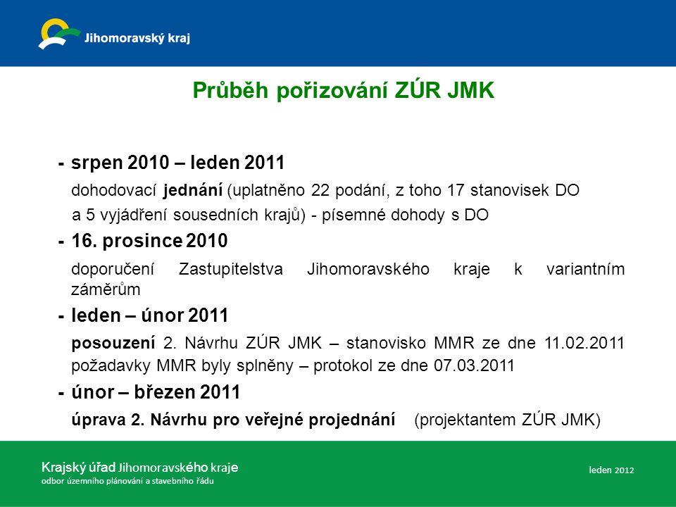 Krajský úřad Jihomoravsk ého kraj e odbor územního plánování a stavebního řádu - 19.