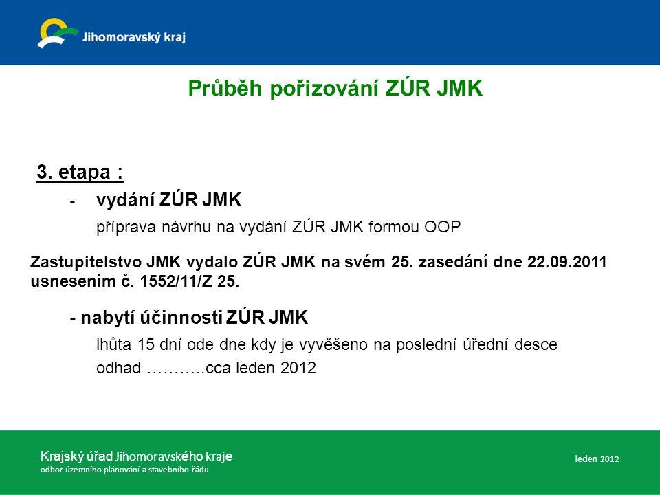 Krajský úřad Jihomoravsk ého kraj e odbor územního plánování a stavebního řádu 3.