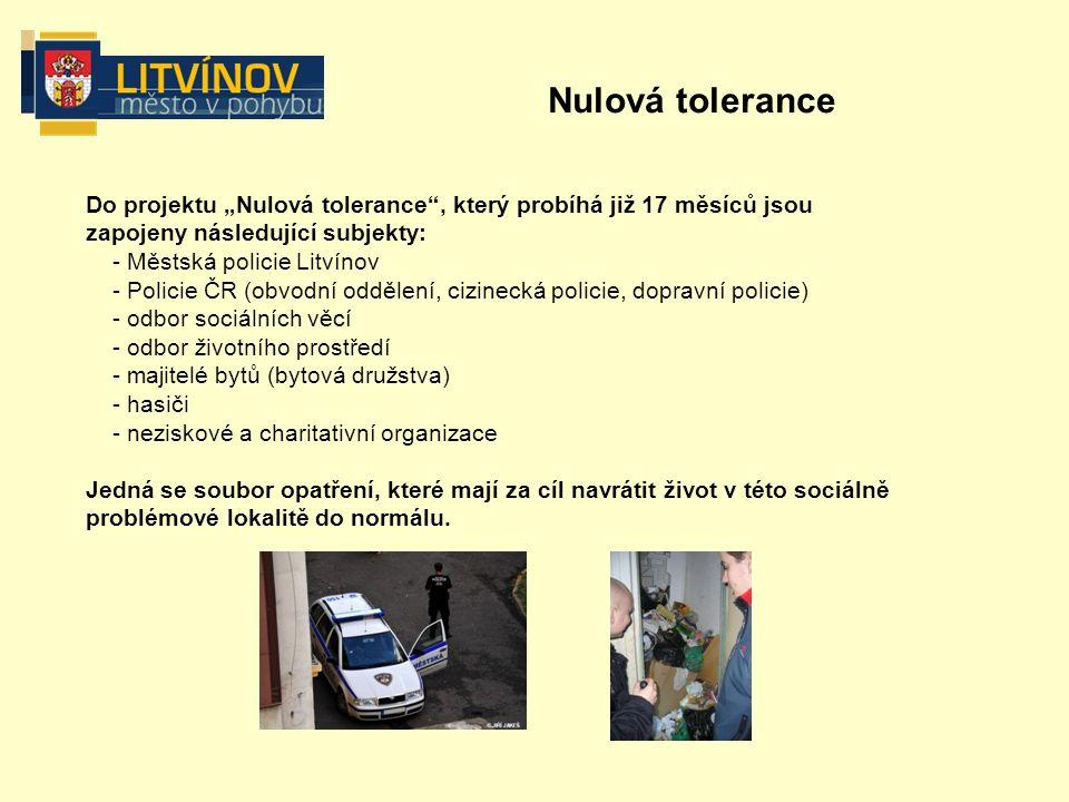 Přijatá opatření - zvýšení bezpečnosti ve městě  Navýšení počtu policistů (Na základě jednání starosty města Litvínova JUDr.