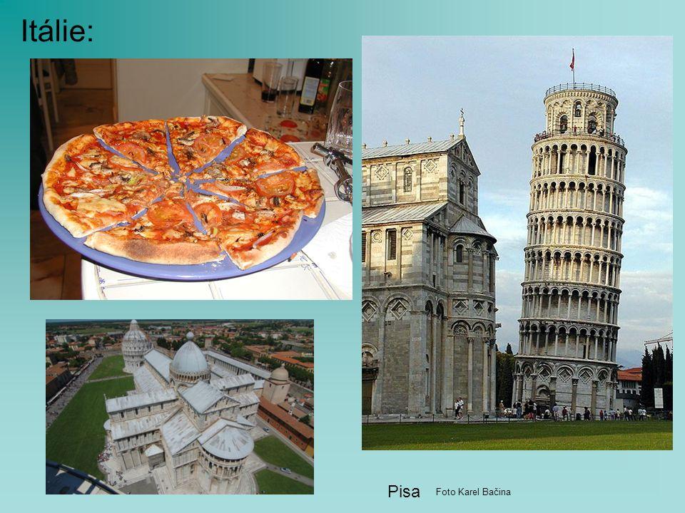 Itálie: Pisa Foto Karel Bačina