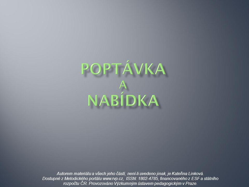 Autorem materiálu a všech jeho částí, není-li uvedeno jinak, je Kateřina Linková. Dostupné z Metodického portálu www.rvp.cz, ISSN: 1802-4785, financov