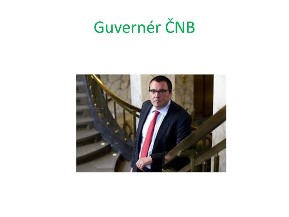 Guvernér ČNB