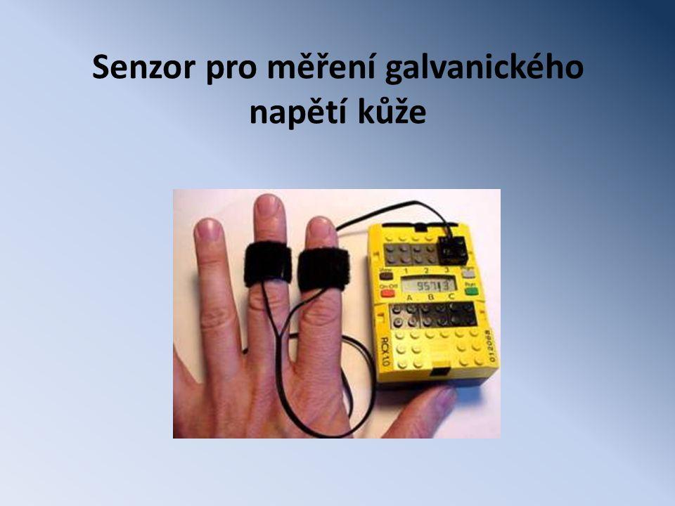 Senzor pro měření galvanického napětí kůže