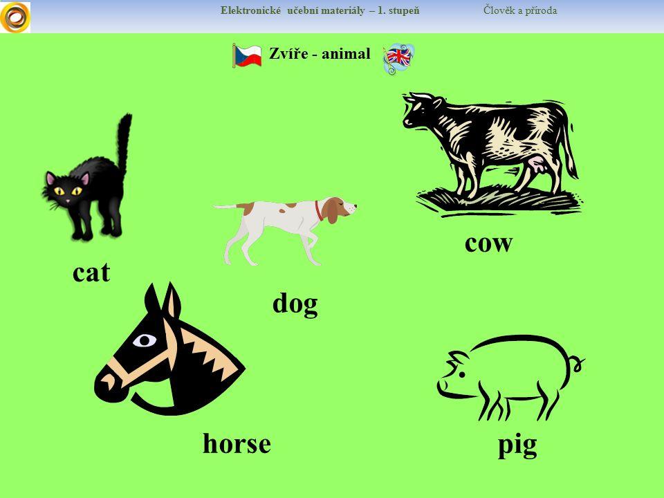 Elektronické učební materiály – 1.stupeň Člověk a příroda Procvičujeme Proč chováme krávy.