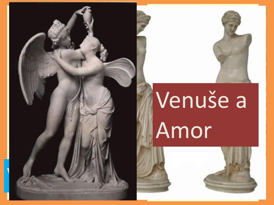 Mars QuirinusJunona Minerva Neptun Vulkán Venuše Venuše a Amor