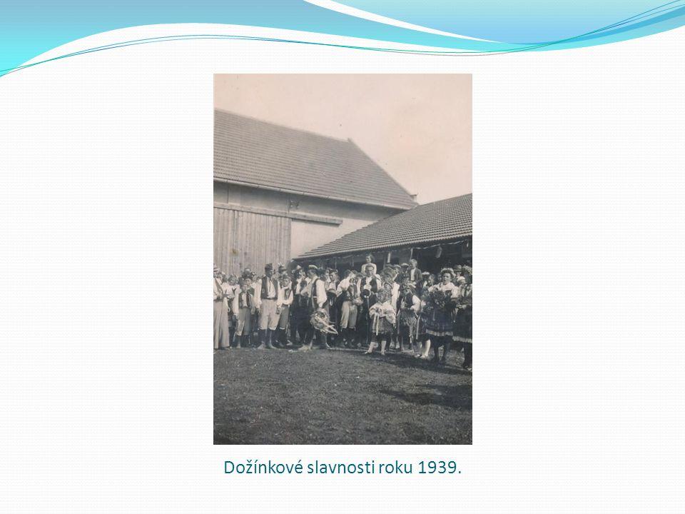 Dožínkové slavnosti roku 1939.