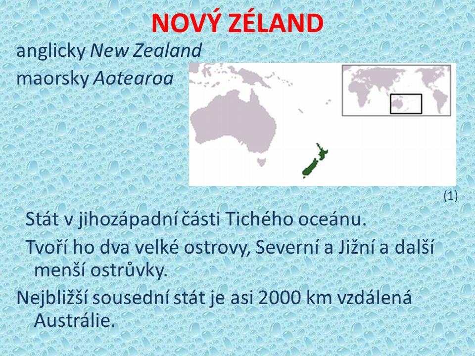 Podnebí mírné přímořské S část Severního ostrova – subtropické, oceánské jih Nového Zélandu, vyšší nadmořské výšky - chladněji