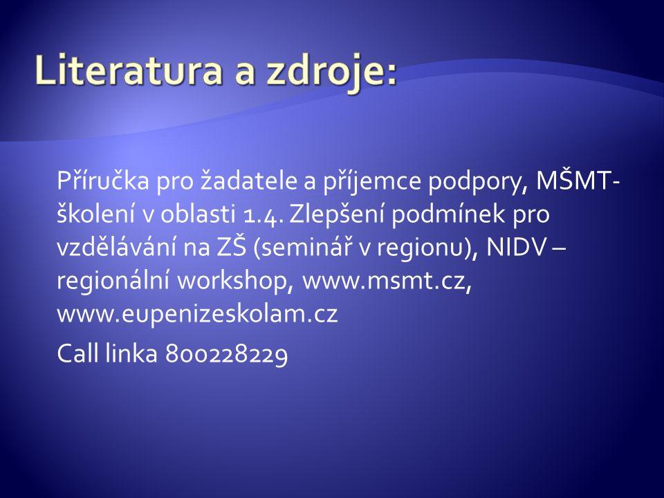 -Oblast podpory 1.4.