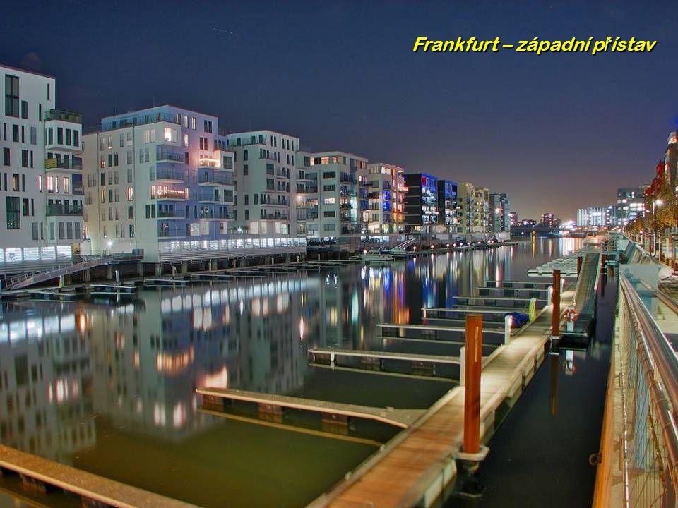 Frankfurt (nejv ě tší m ě sto spolkového státu Hesensko)