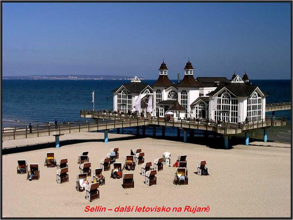 Binz, Rügen - Rujana – nejv ě tší ostrov a p ř ímo ř ské letovisko N ě mecka je v Baltském mo ř i