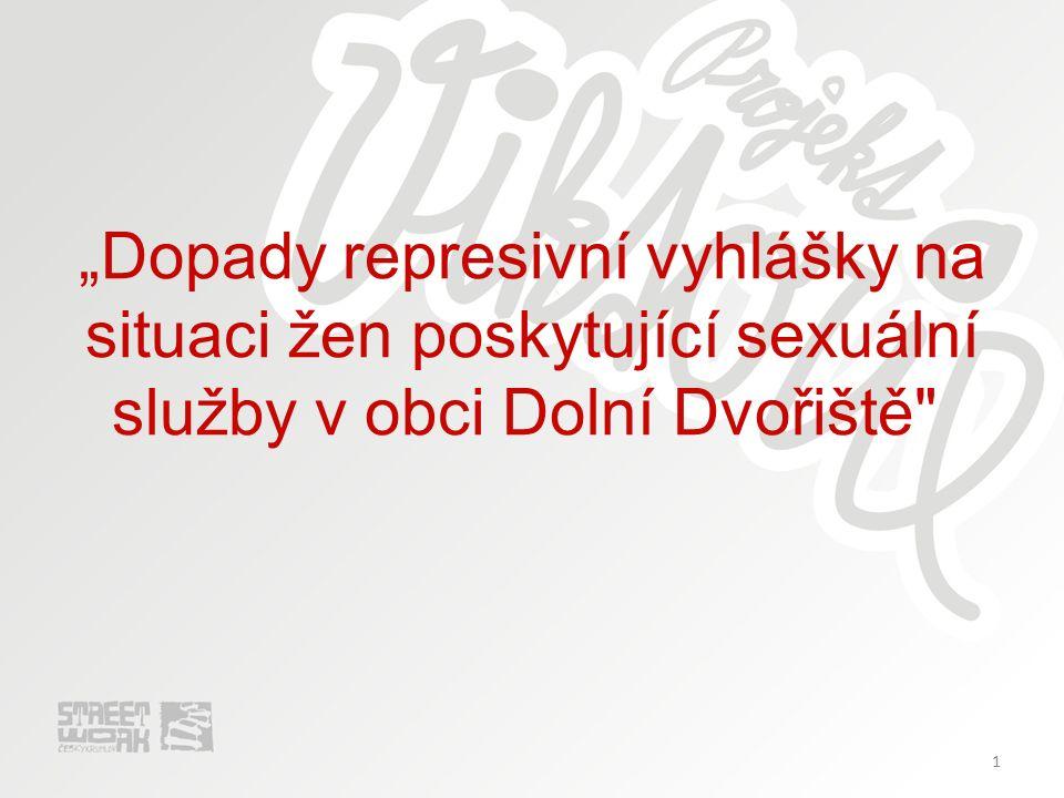 """1 """" """"Dopady represivní vyhlášky na situaci žen poskytující sexuální služby v obci Dolní Dvořiště"""