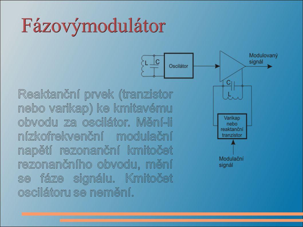 Fázovýmodulátor