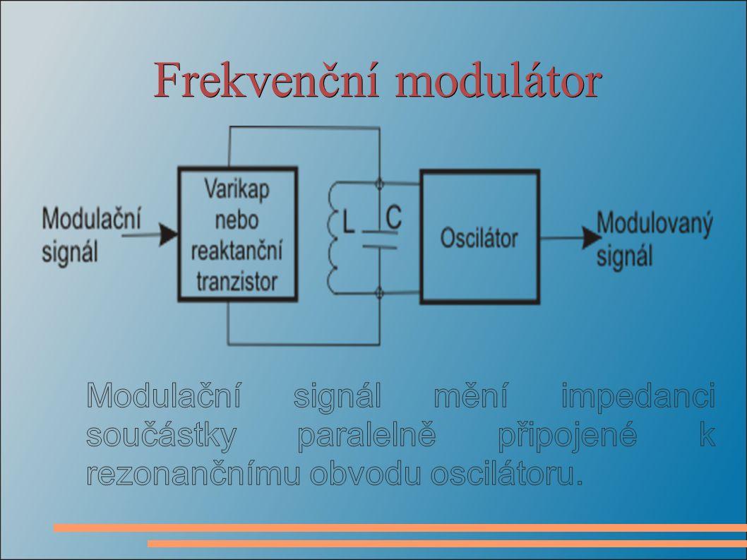 Frekvenční modulátor