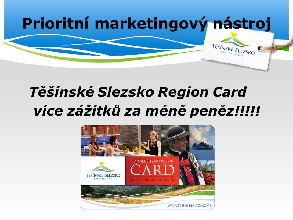 Prioritní marketingový nástroj Těšínské Slezsko Region Card více zážitků za méně peněz!!!!!