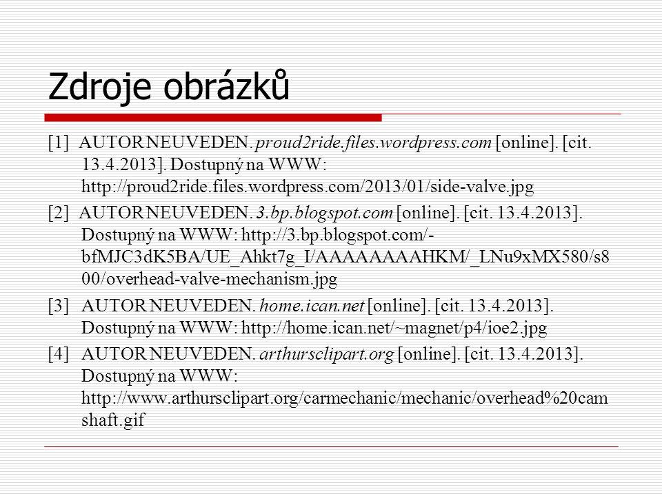 Zdroje obrázků [1] AUTOR NEUVEDEN. proud2ride.files.wordpress.com [online].