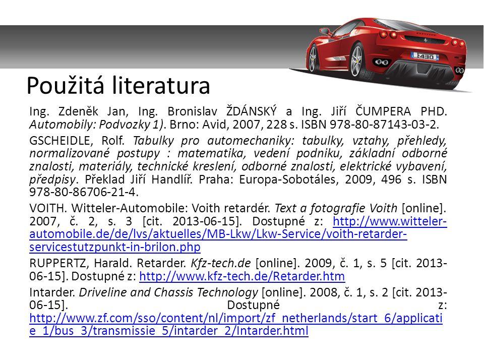 Ing. Zdeněk Jan, Ing. Bronislav ŽDÁNSKÝ a Ing. Jiří ČUMPERA PHD.