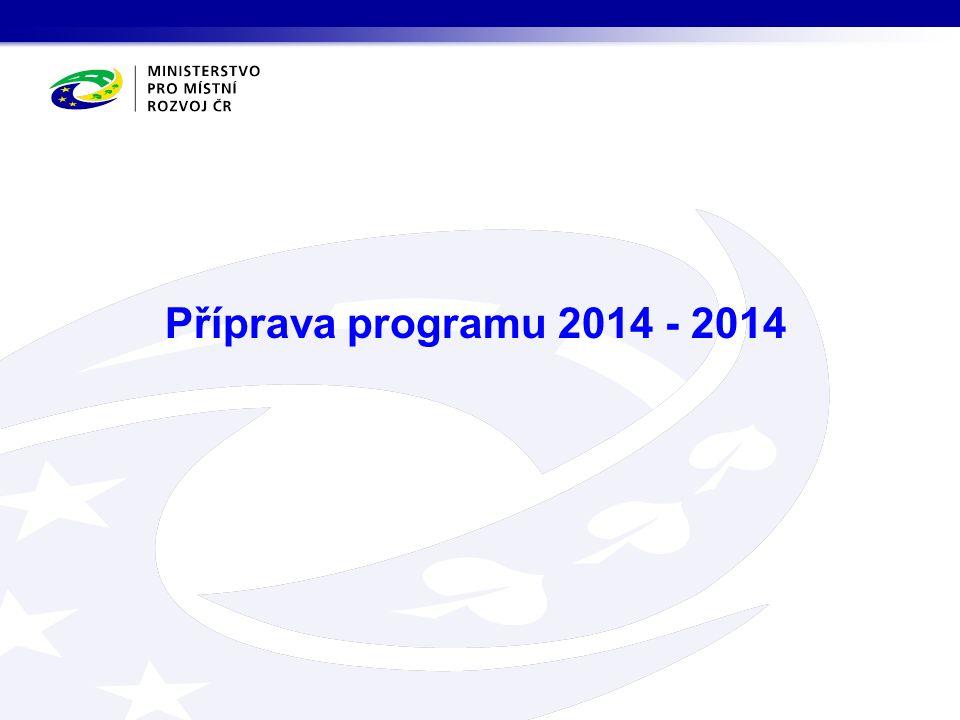 Příprava programu 2014 - 2014