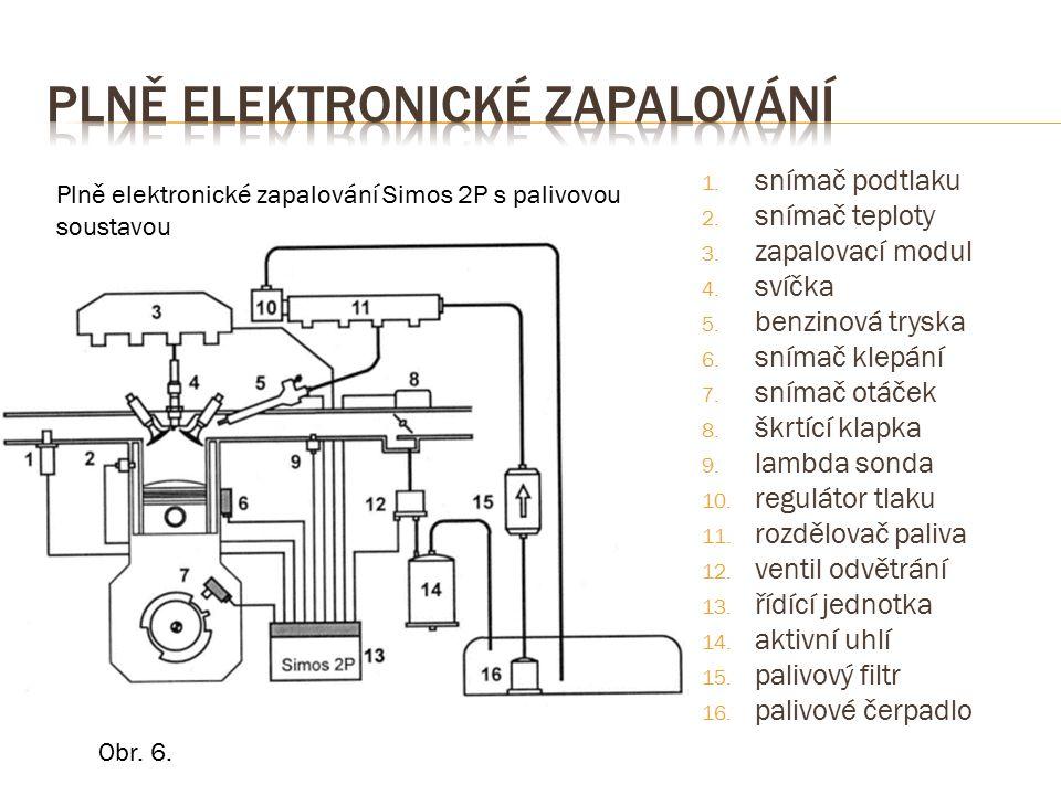 1.Čím se zásadně liší plně elektronické zapalování od elektronického.