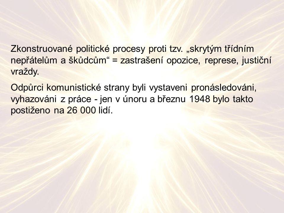 Zkonstruované politické procesy proti tzv.