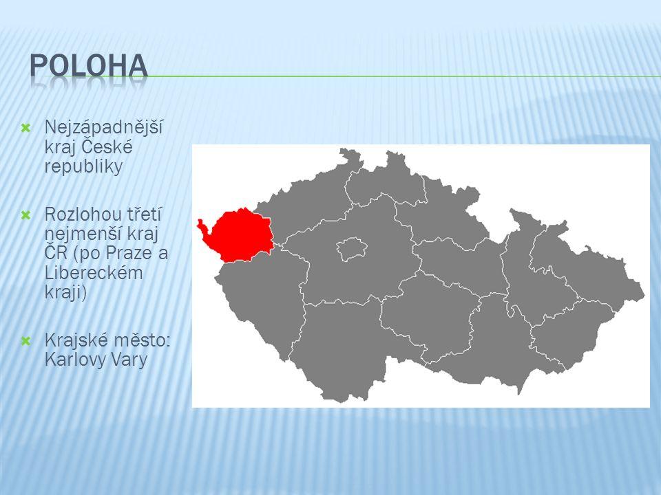  Popiš povrch Karlovarského kraje (názvy pohoří i pánve)  Jak se jmenuje nejvyšší vrch Karlovarského kraje a v jakém se nachází pohoří?